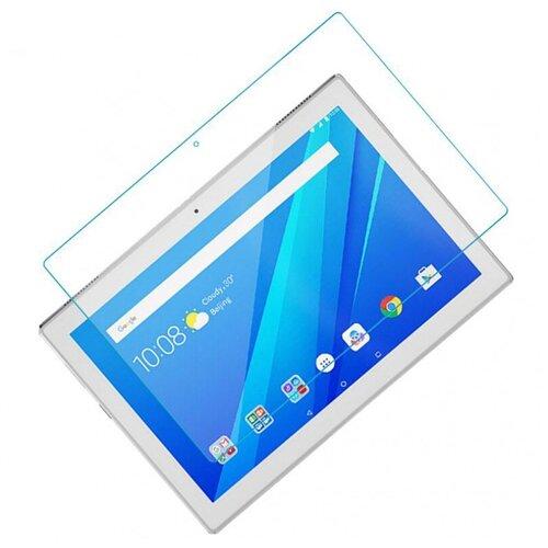 Защитное противоударное стекло MyPads для планшета Lenovo Tab E10 TB-X104N/F/L с олеофобным покрытием