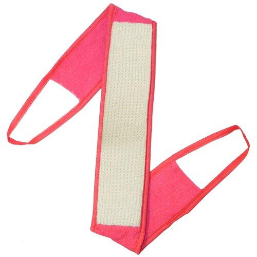 Купить Мочалка Eva Ladies с ручками, сизаль розовый