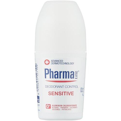 Pharmaline дезодорант, ролик, Sensitive, 50 мл