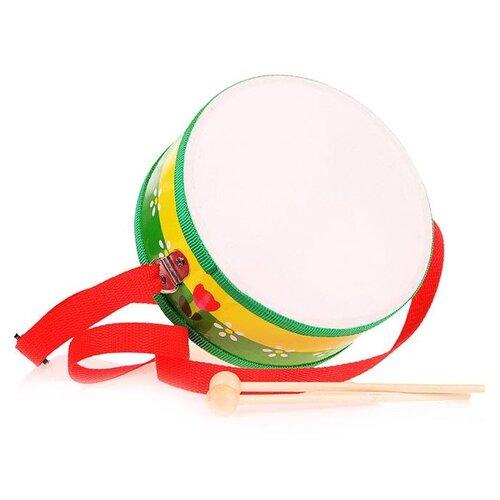 Купить Барабан Щепочка 18 см (D0010), Детские музыкальные инструменты