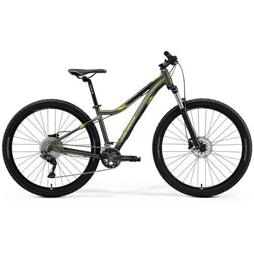 Велосипед Merida Matts 7.80 (SilkGreen/Lime 19) велосипед merida speeder 80 2019