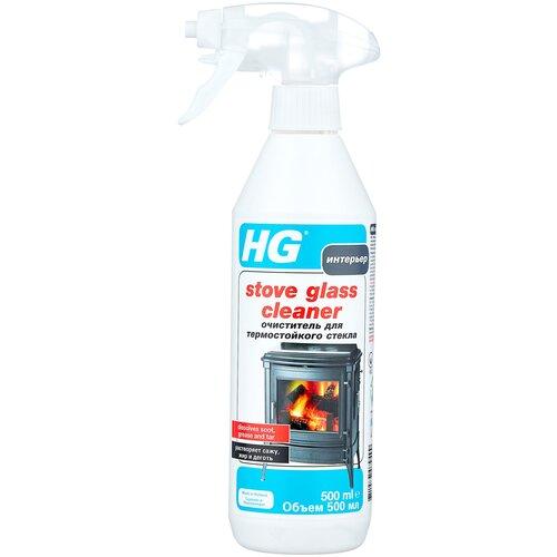 Фото - Спрей HG Stove Glass Cleaner для стекол печей и каминов, 500 мл очиститель hg для душевой и ванной 500 мл