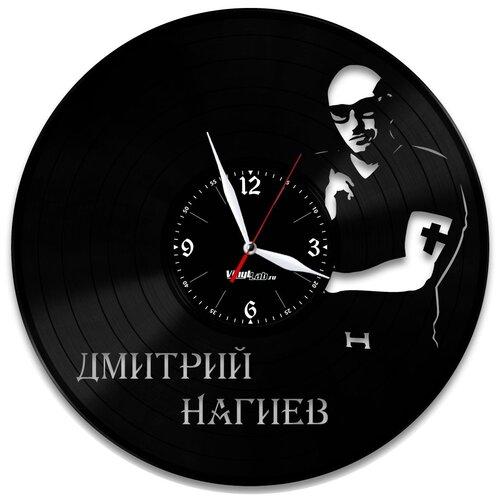 Часы из виниловой пластинки (c) VinylLab Дмитрий Нагиев