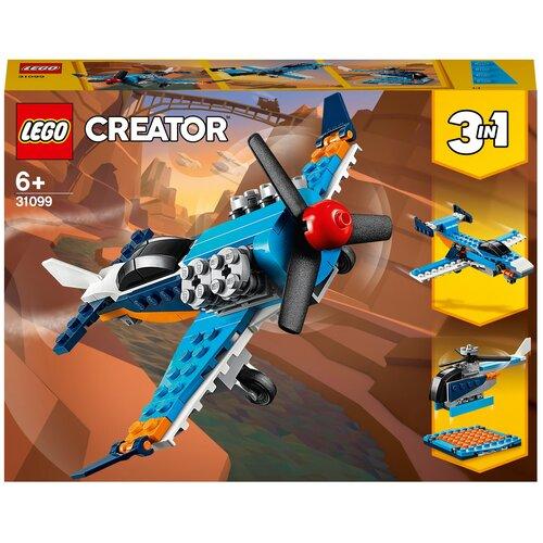 Фото - Конструктор LEGO Creator 31099 Винтовой самолёт lego creator городской магазин игрушек 31105