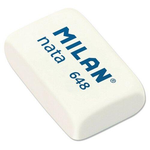 Купить Ластик пластиковый Milan nata 648 белый 3, 1х1, 9х0, 9 7 штук, Ластики
