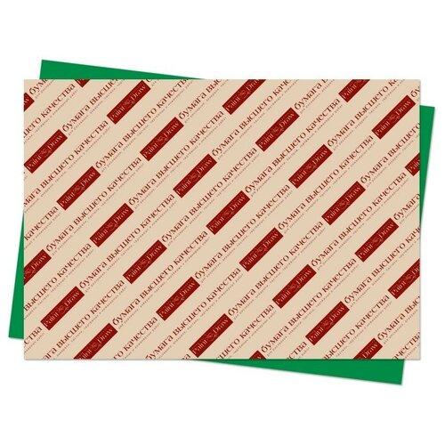Цветной картон А3 в листах (зеленый)