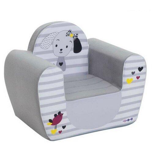 Кресло PAREMO детское PCR317 размер: 54х38 см, обивка: ткань, цвет: Мимими Крошка Ди