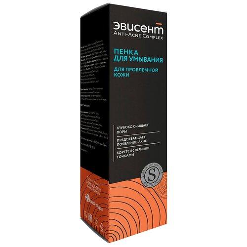 Купить Эвисент Пенка для умывания для проблемной кожи Anti-acne Complex, 160 мл