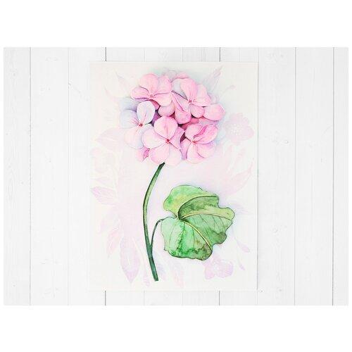 Папертоль «Лиловая гортензия», Paperlove, 15x20 см