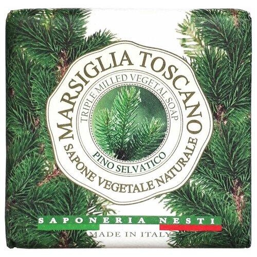 Мыло кусковое Nesti Dante Marsiglia Toscano Pino Selvatico, 200 г недорого