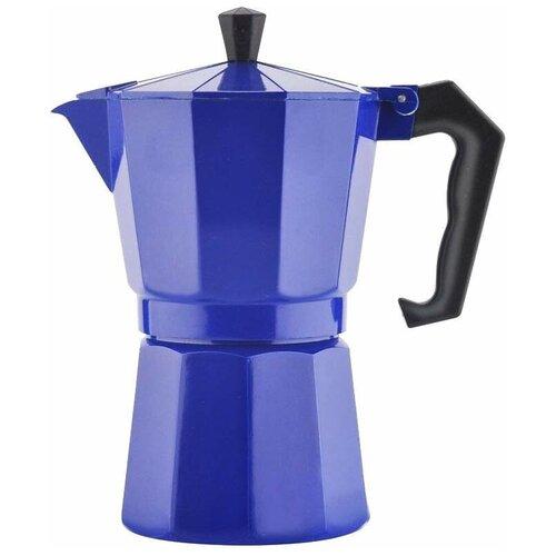 Гейзерная кофеварка Mallony Grande (250 мл), синий