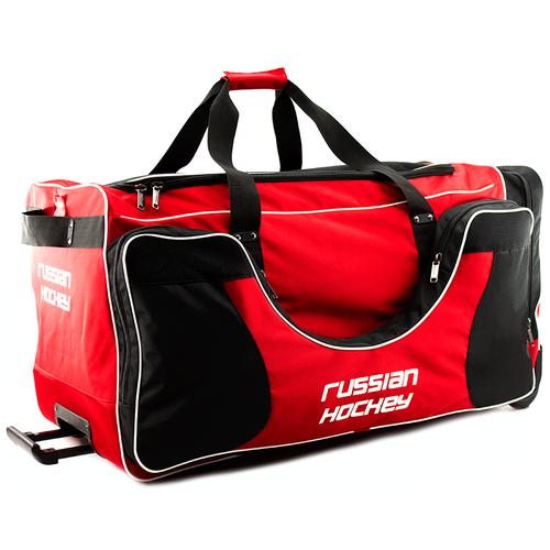 Баул хоккейный BITEX 24-975/1 сумка спортивная на колесах красно-черный полиэстер red fox баул на колесах roller duffel 100 4400 янтарь ss17