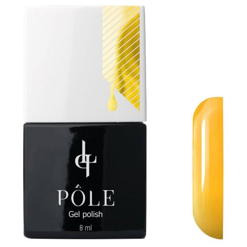Купить Гель-лак для ногтей Pole Classic line, 8 мл, шафран
