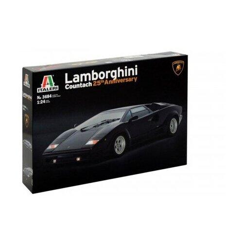 Модель для сборки Italeri Автомобили и мотоциклы LAMBORGHINI COUNTACH 25tn Anniversar (1:24)
