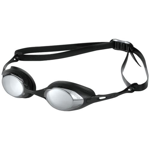 Фото - Очки для плавания arena Cobra Mirror 92354, smoke/silver/black очки для плавания arena zoom neoprene 92279 black clear black
