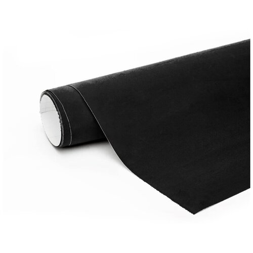 Алькантара пленка автомобильная - 5*1,46 м, цвет: черный