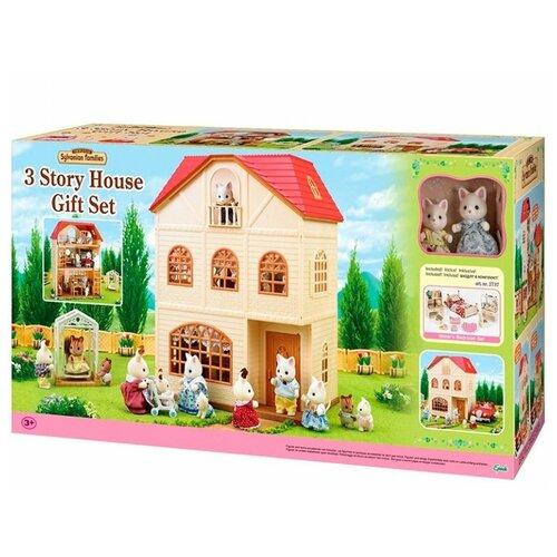 Sylvanian Families Набор Трехэтажный дом (подарочный набор) 2737