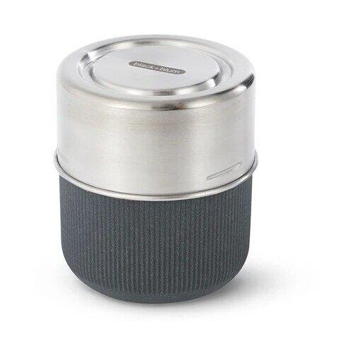 Black + blum Ланч-бокс Glass Lunch Pot, 11x10 см, slate