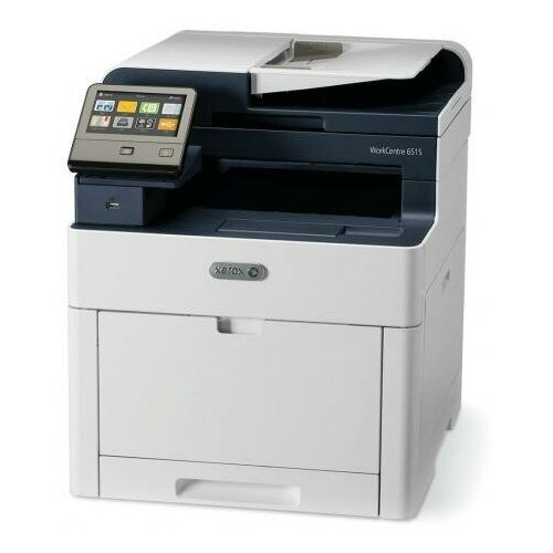 Фото - МФУ Xerox WorkCentre 6515DN, белый/синий мфу xerox workcentre 6515n белый синий