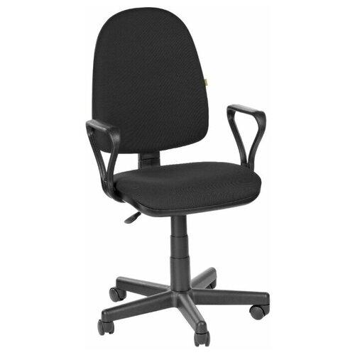 Кресло офисное Престиж ткань черная В-14
