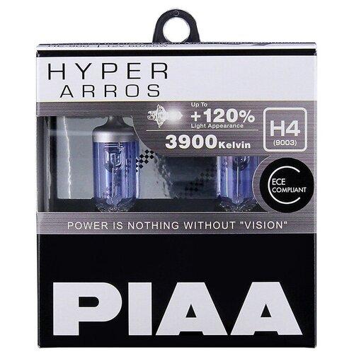 Лампа автомобильная галогенная PIAA Hyper Arros (HE-900-H4) H4 12V 60/55W 2 шт.