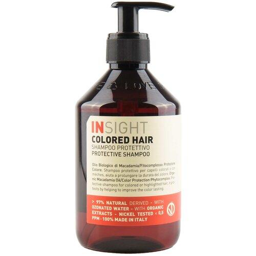 Фото - Insight шампунь Colored Hair Protective защитный для окрашенных волос, 400 мл insight кондиционер colored hair защитный для окрашенных волос 400 мл