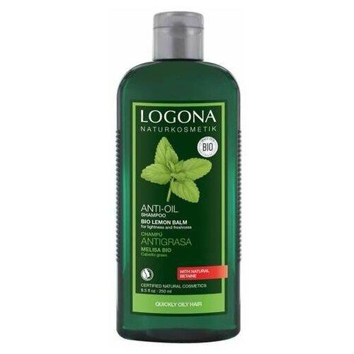 Купить Logona шампунь Anti Oil Bio lemon balm с экстрактом Мелиссы, 250 мл