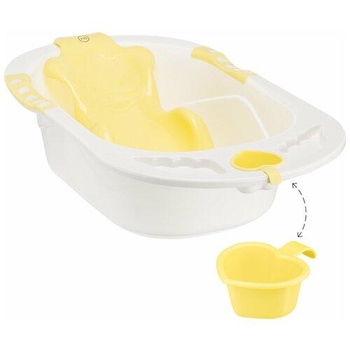 Купить Анатомическая ванночка Happy Baby Bath comfort yellow, Ванночки
