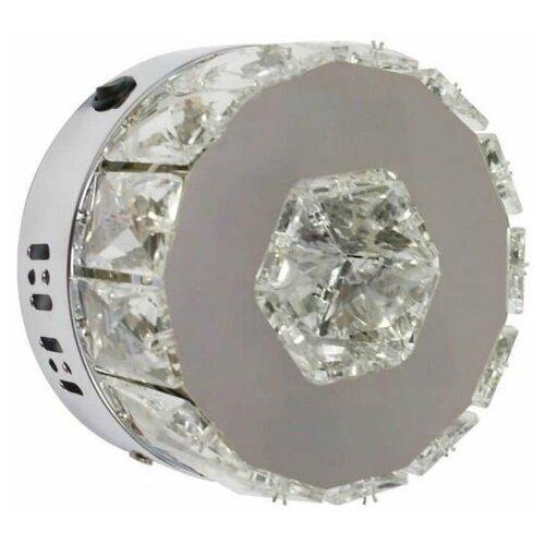 Фото - Бра Kink light Тор-Кристалл 08608 (3000-6000K), с выключателем, 6 Вт бра kink light мотоцикл черный 074110 5 с выключателем 18 вт