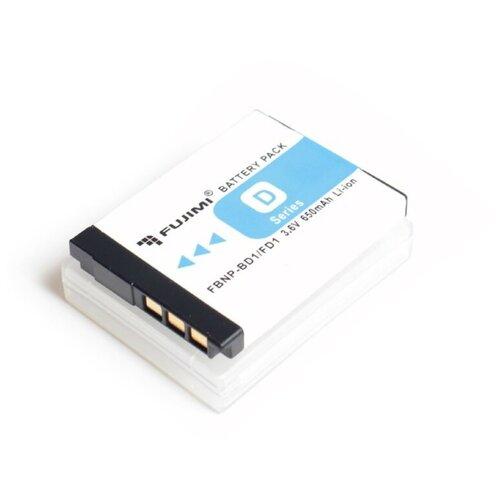 Фото - Fujimi FBNP-BD1/FD1 Аккумулятор для фото-видео камер fujimi lp e17 зу аккумулятор для фото и видео камер в комплекте с зу