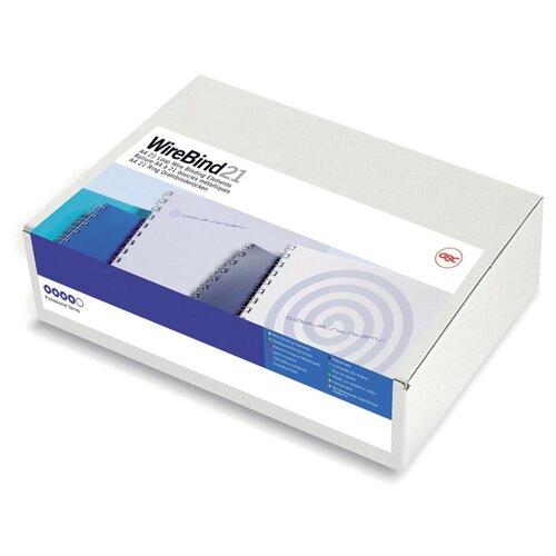 Фото - Пружины для переплета металлические GBC d=8мм A4 белый (100шт) MultiBind (IB165184) gbc inspire a4