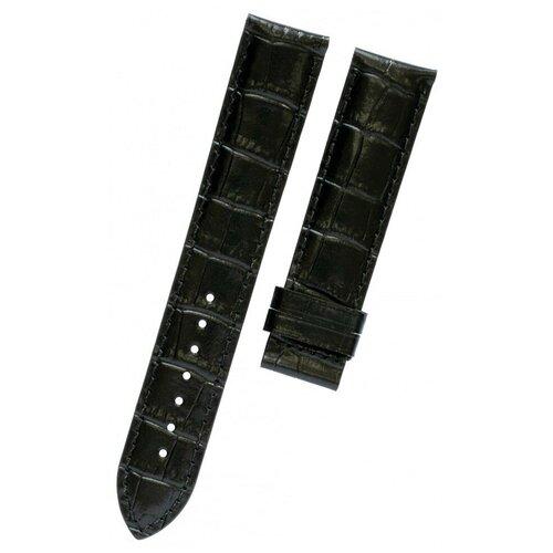 T610029098 Черный кожаный ремешок, теленок, имитация крокодила, 19/18, без замка, для часов TISSOT PR 100, Classic Automatics III T049.407, T049.410, T065.430 0 pr на 100