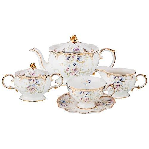 Чайный сервиз на 6 персон Завтрак у короля 15 пр Lefard (590-266)
