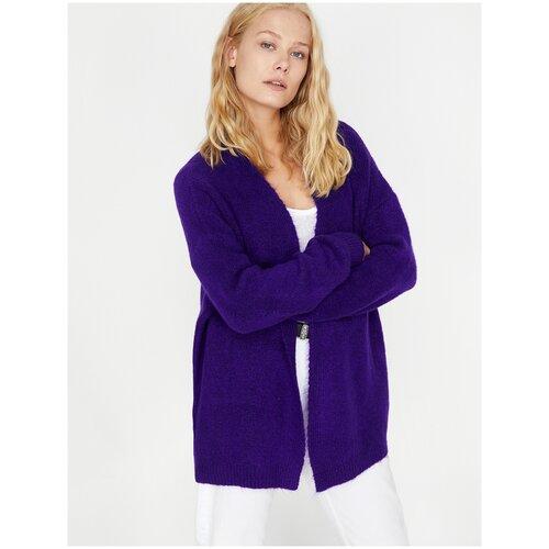 Кардиган KOTON, размер XL(42), 348 фиолетовый