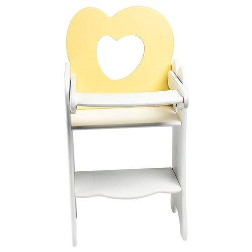 PAREMO Кукольный стульчик для кормления (PFD120) желтый paremo кукольный стульчик для кормления мини pfd120m белый