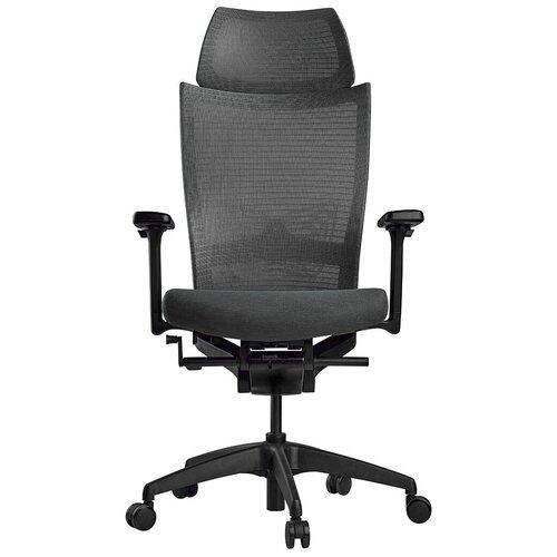 Эргономичное компьютерное кресло Schairs ZEN2-M01B GREY