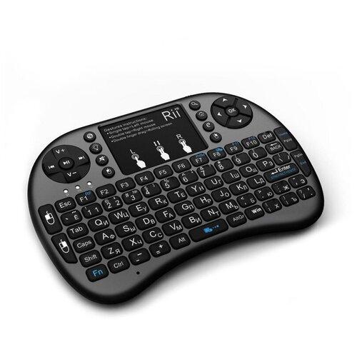 Беспроводная клавиатура с трекпадом Rii mini i8+ (RUS)