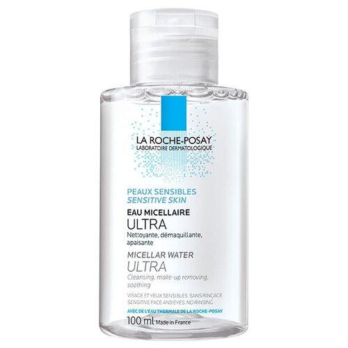 La Roche-Posay мицеллярная вода для чувствительной кожи лица и глаз Ultra Sensitive, 100 мл недорого