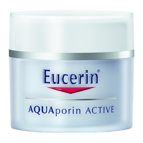 Купить Eucerin Aquaporin Active Увлажняющий крем для чувствительной кожи лица, нормального и комбинированного типа, 50 мл