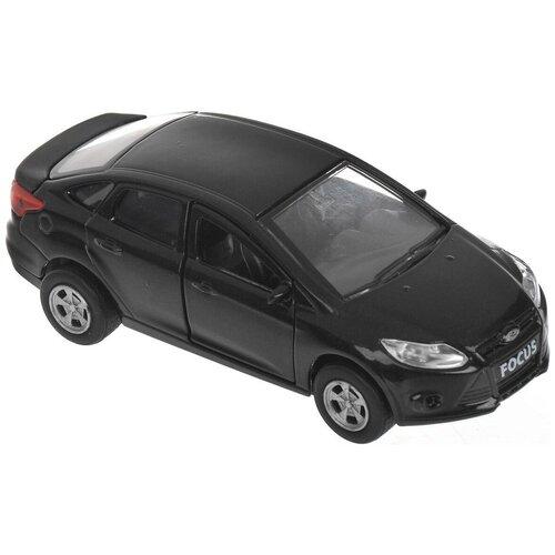 Купить Легковой автомобиль ТЕХНОПАРК Ford Focus (SB-16-45-N-WB), 12 см, черный, Машинки и техника
