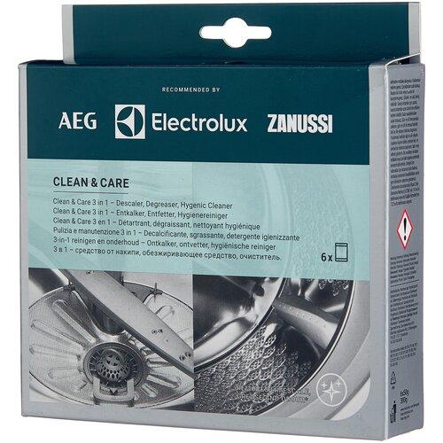 Electrolux Clean & Care 3 в 1 Набор для чистки стиральной машины 6х50 г