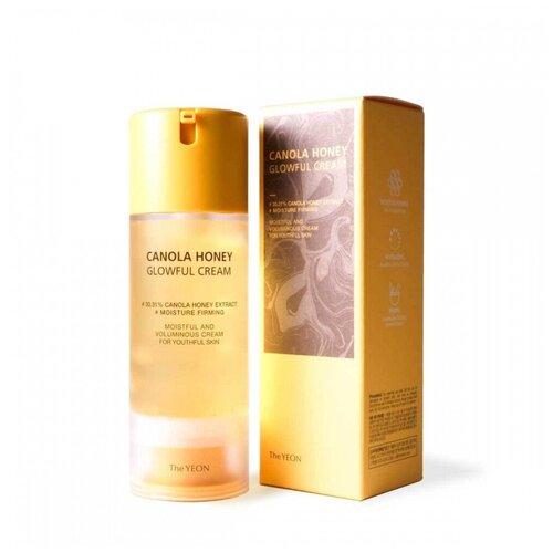 Крем-гель для лица с экстрактом мёда канолы YEON,100мл