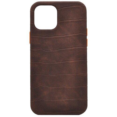 Чехол из натуральной кожи для iPhone 11 Pro Коричневый iGrape