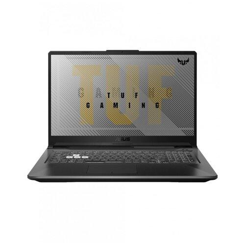 "Ноутбук ASUS TUF Gaming A17 FX706LI-HX175T (Intel Core i5 10300H 2500MHz/17.3""/1920x1080/8GB/512GB SSD/NVIDIA GeForce GTX 1650 Ti 4GB/Windows 10 Home) 90NR03S1-M03670 серый"