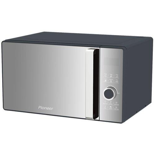 Микроволновая печь Pioneer 23 л с авторазмораживанием и таймером, 5 уровней мощности, 800 Вт