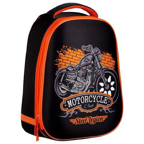 Фото - ArtSpace Ранец School Friend Moto, черный/оранжевый artspace ранец school friend super cool синий