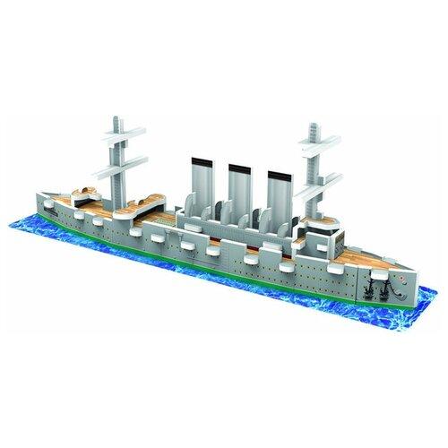 3D-пазл IQ Puzzle 3D Крейсер Аврора (17028), 26 дет.