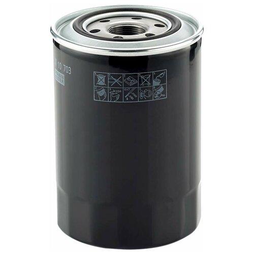 Фото - Масляный фильтр MANN-FILTER W 10 703 фильтр масляный mann filter w 10 703