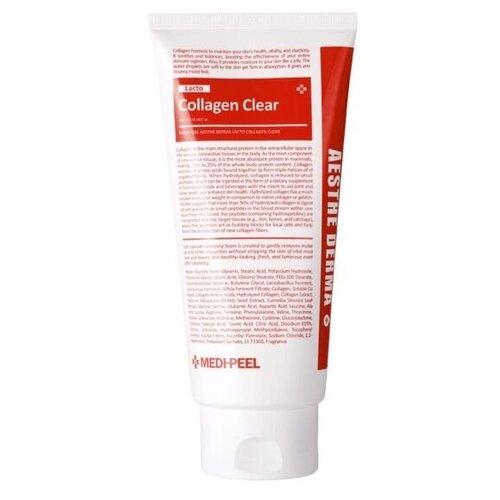 Купить Очищающая пенка для умывания с коллагеном Medi-Peel Aesthe Derma Lacto Collagen Clear 300 мл.