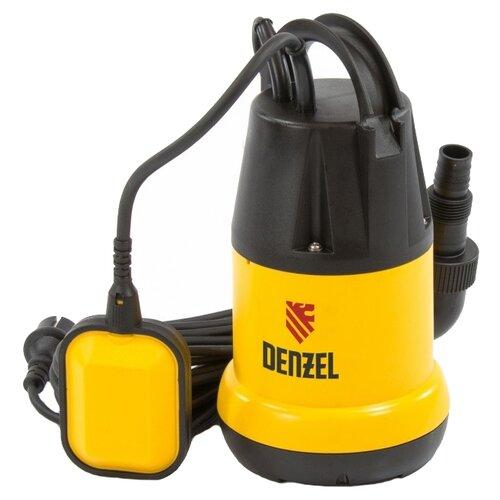 Дренажный насос для чистой воды Denzel DP250 (250 Вт) дренажный насос denzel dp450s 450 вт